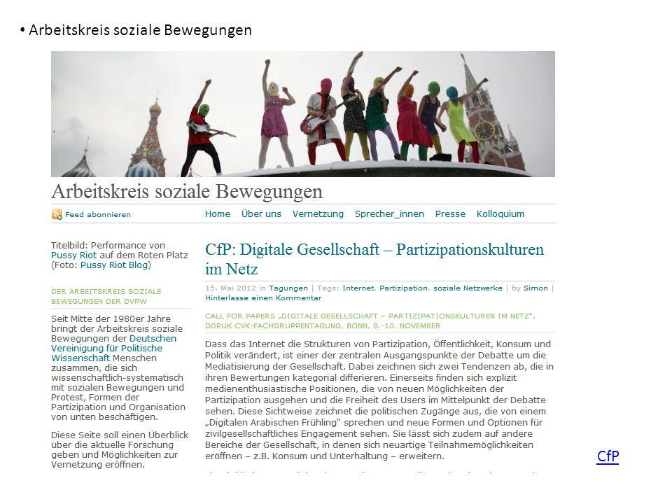 Arbeitskreis soziale Bewegungen