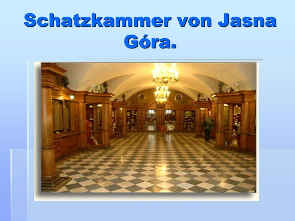 Schatzkammer von Jasna Góra.