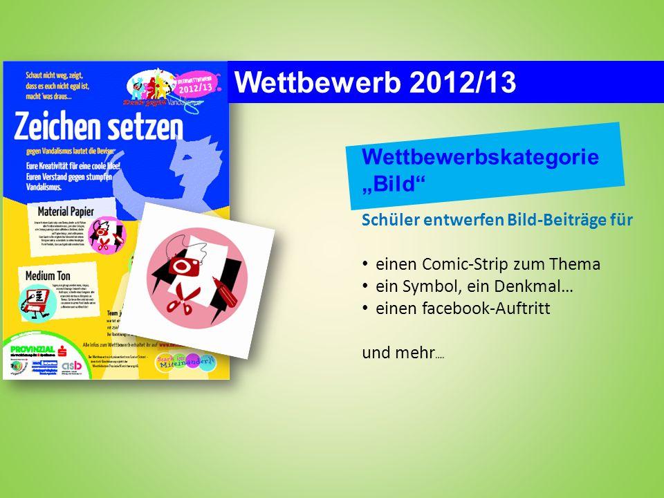 """Wettbewerb 2012/13 Wettbewerbskategorie """"Bild"""