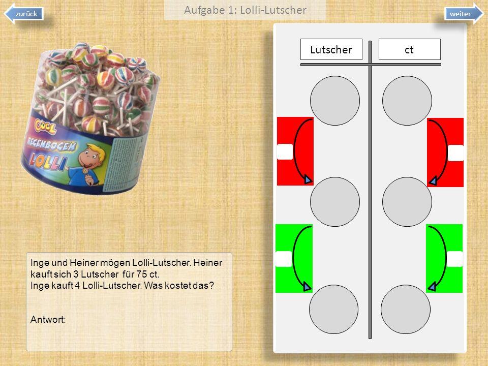 Aufgabe 1: Lolli-Lutscher