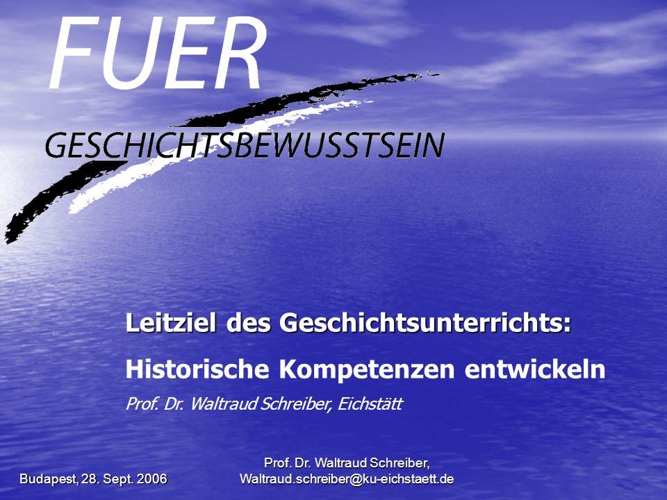 Prof. Dr. Waltraud Schreiber, Waltraud.schreiber@ku-eichstaett.de