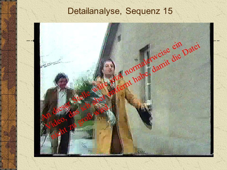 Detailanalyse, Sequenz 15
