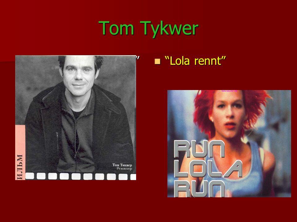 Tom Tykwer Der Film Lola rennt Lola rennt