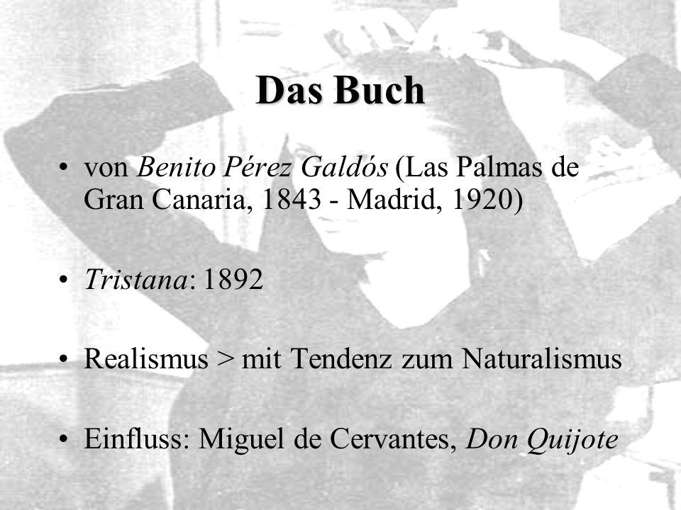 Das Buch von Benito Pérez Galdós (Las Palmas de Gran Canaria, 1843 - Madrid, 1920) Tristana: 1892.