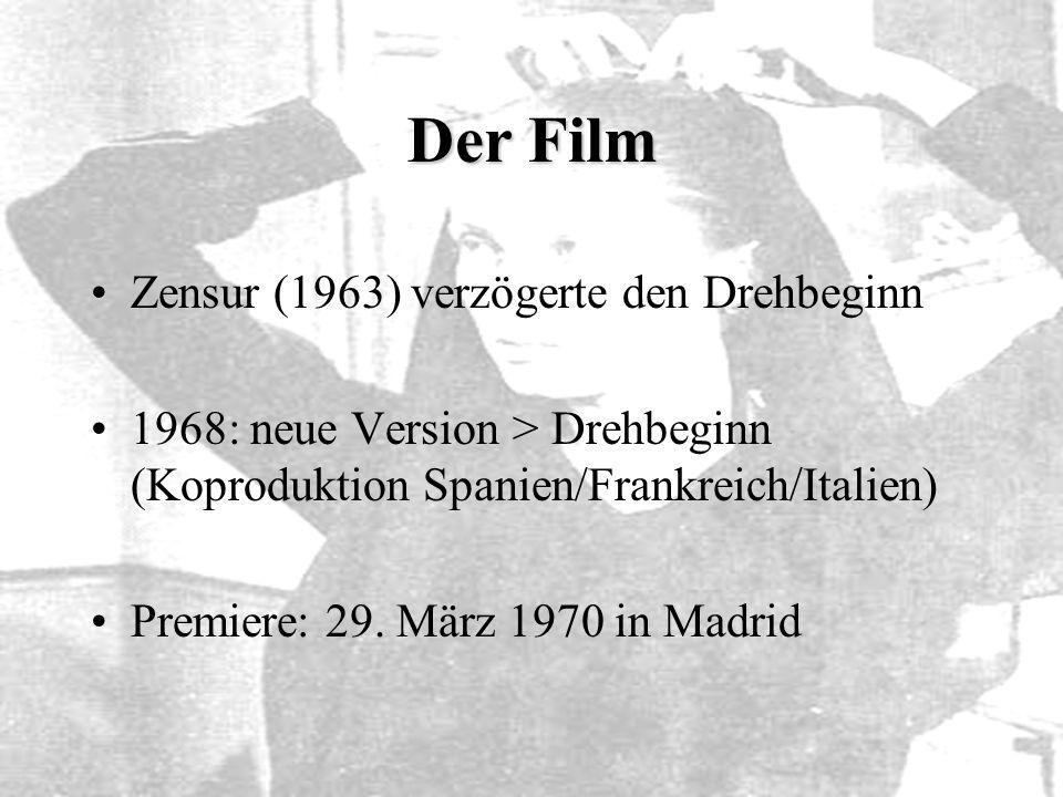 Der Film Zensur (1963) verzögerte den Drehbeginn