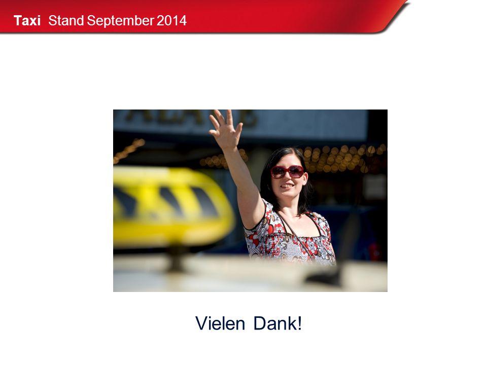 Taxi Stand September 2014 Vielen Dank!