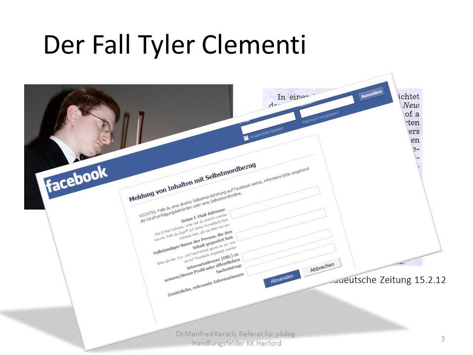 Der Fall Tyler Clementi