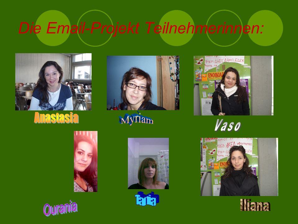 Die Email-Projekt Teilnehmerinnen: