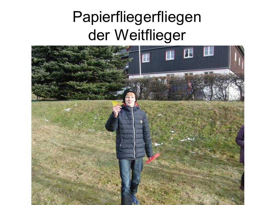 Papierfliegerfliegen der Weitflieger