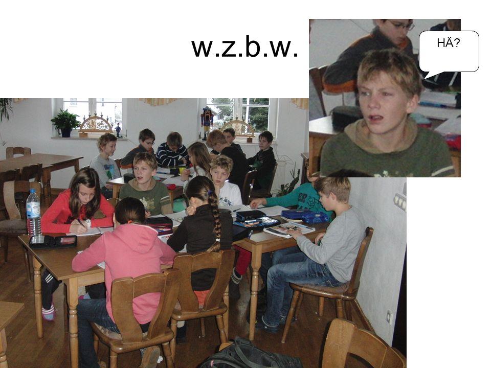 w.z.b.w. HÄ