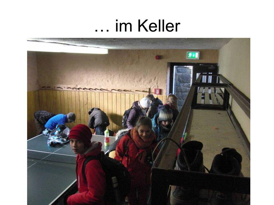 … im Keller