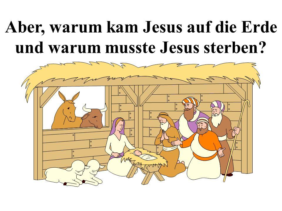 Aber, warum kam Jesus auf die Erde und warum musste Jesus sterben