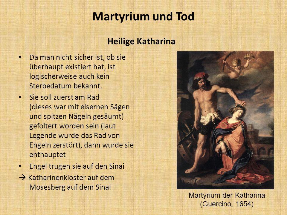 Martyrium der Katharina (Guercino, 1654)