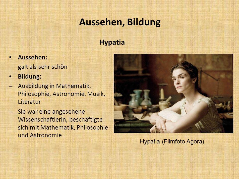Hypatia (Filmfoto Agora)