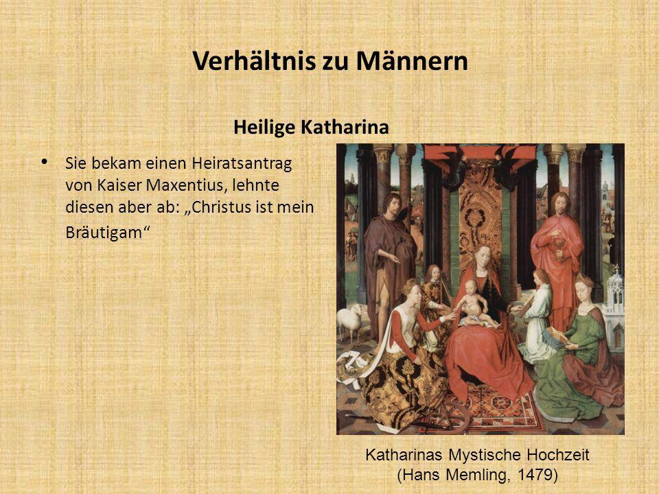 Katharinas Mystische Hochzeit (Hans Memling, 1479)