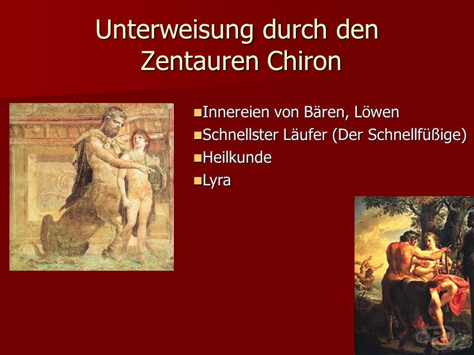 Unterweisung durch den Zentauren Chiron