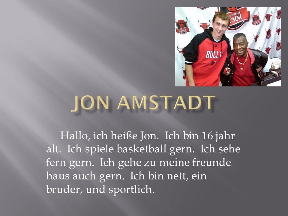 Jon Amstadt