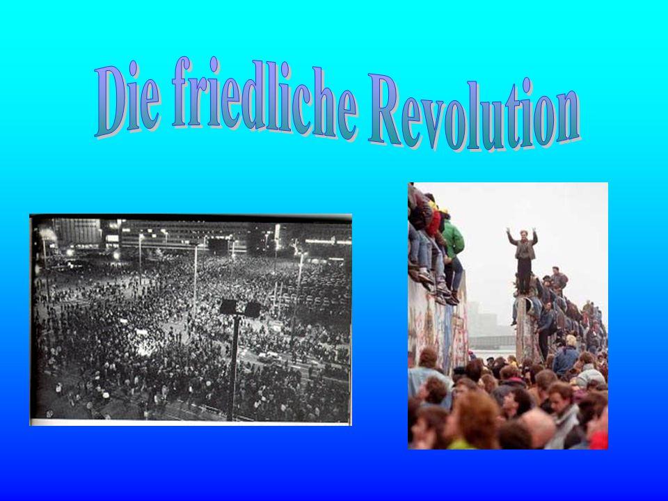 Die friedliche Revolution
