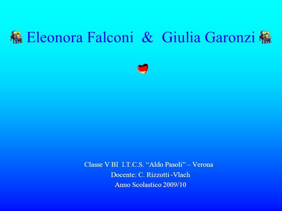 Eleonora Falconi & Giulia Garonzi