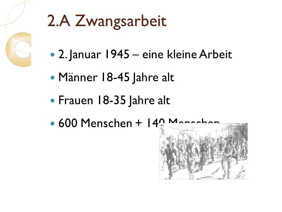 2.A Zwangsarbeit 2. Januar 1945 – eine kleine Arbeit