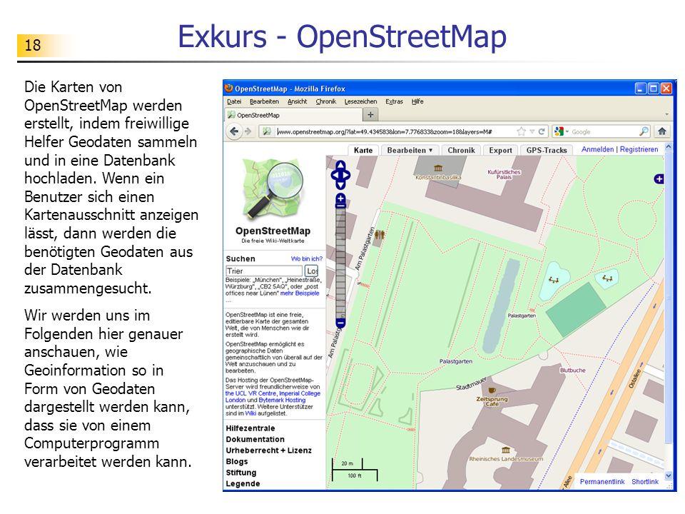 Exkurs - OpenStreetMap