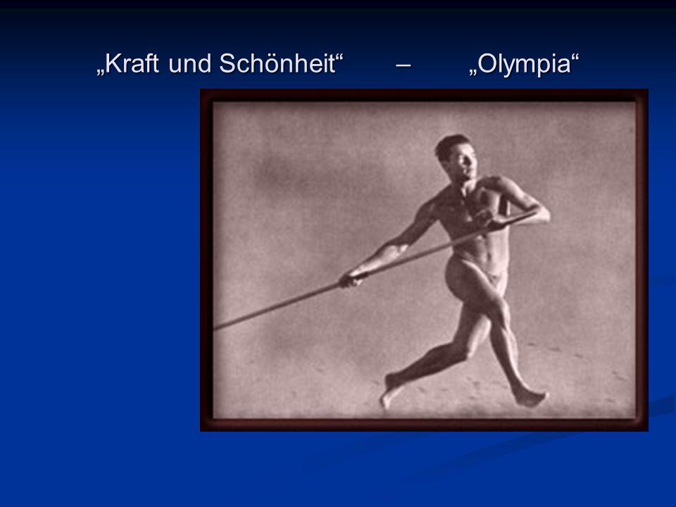 """""""Kraft und Schönheit – """"Olympia"""