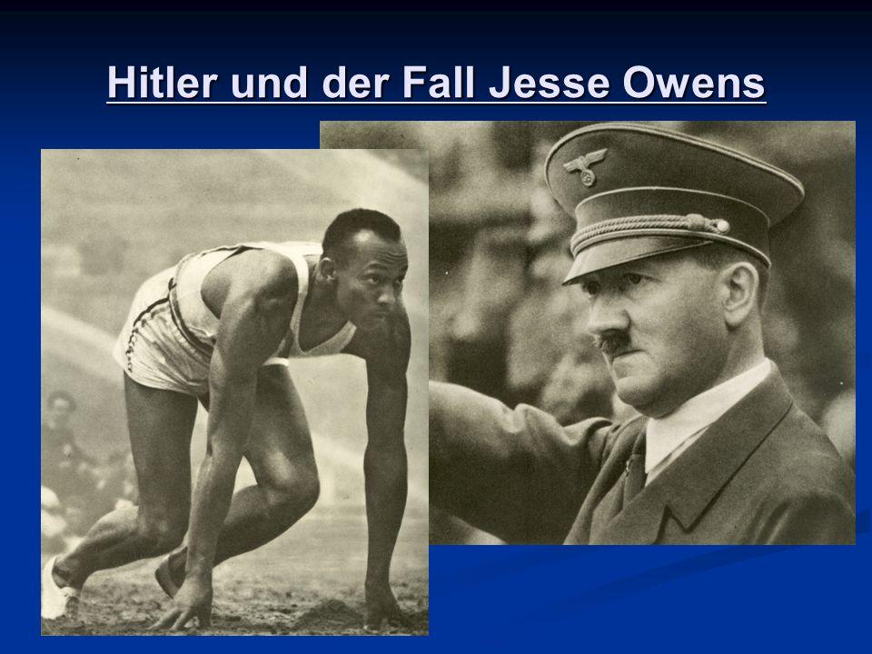 Hitler und der Fall Jesse Owens