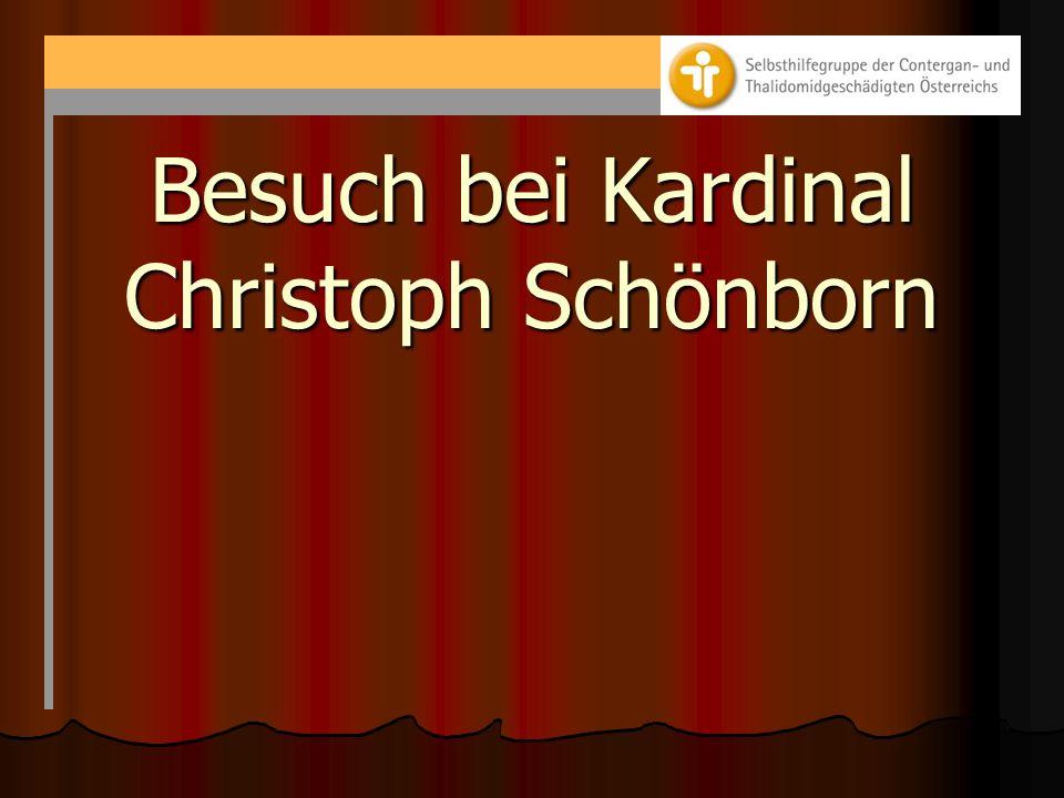 Besuch bei Kardinal Christoph Schönborn