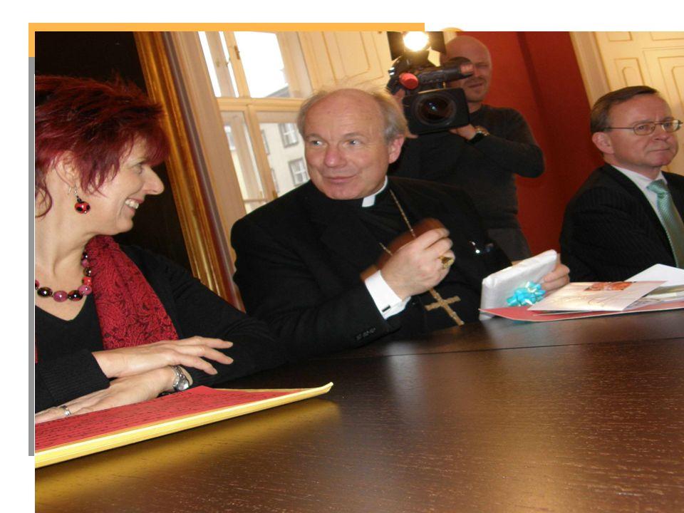 Besuch beim Erzbischof von Wien