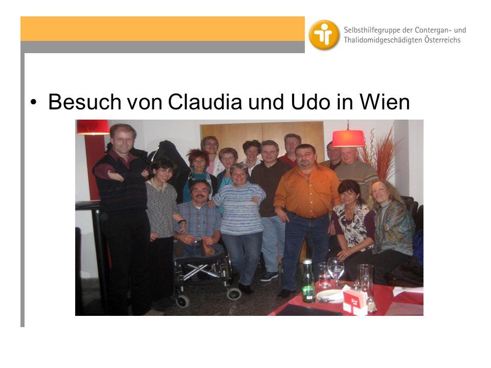 Besuch von Claudia und Udo in Wien