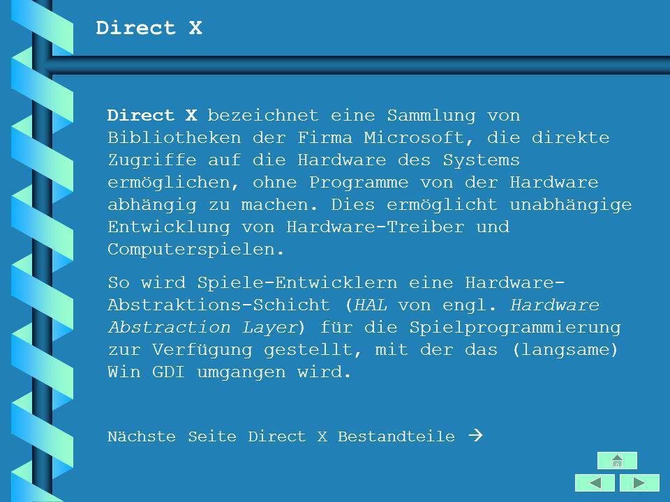 Direct X