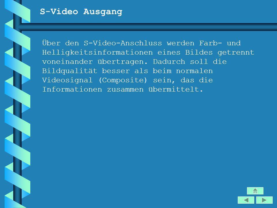 S-Video Ausgang