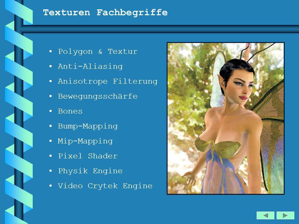Texturen Fachbegriffe