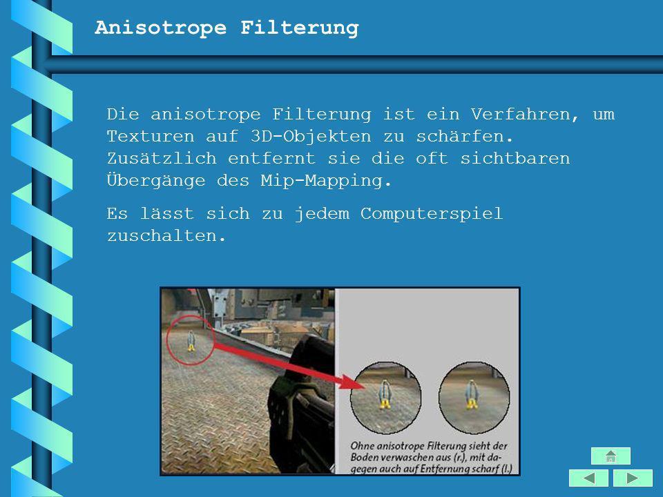 Anisotrope Filterung