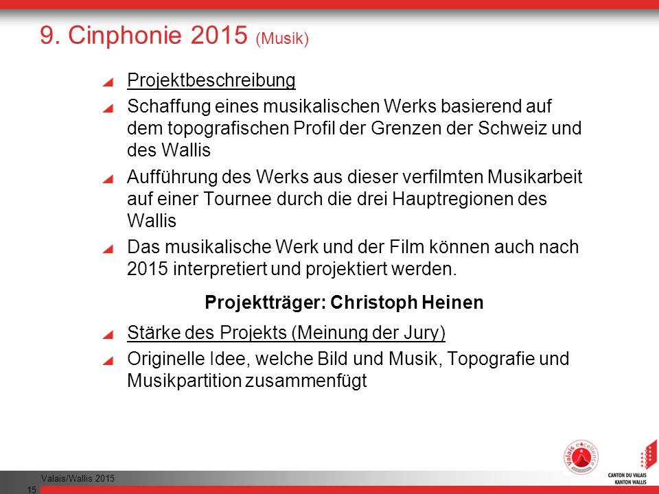 Projektträger: Christoph Heinen