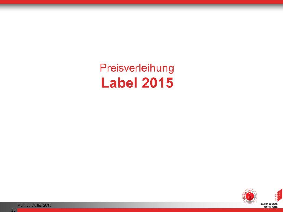 Preisverleihung Label 2015