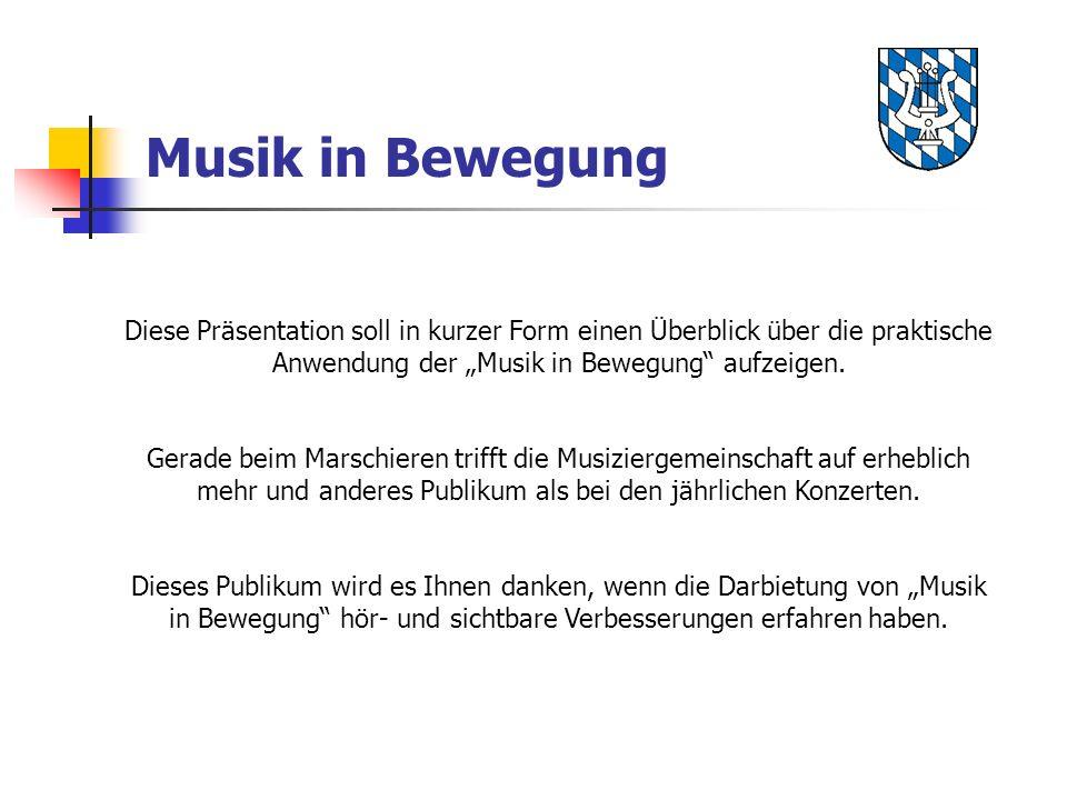 """Musik in Bewegung Diese Präsentation soll in kurzer Form einen Überblick über die praktische Anwendung der """"Musik in Bewegung aufzeigen."""