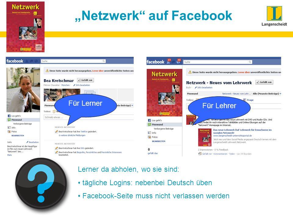 """""""Netzwerk auf Facebook"""