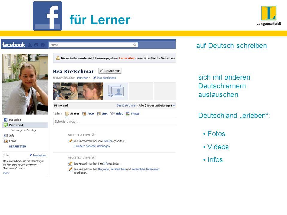 für Lerner auf Deutsch schreiben