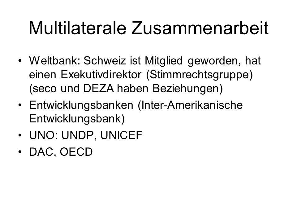 Multilaterale Zusammenarbeit