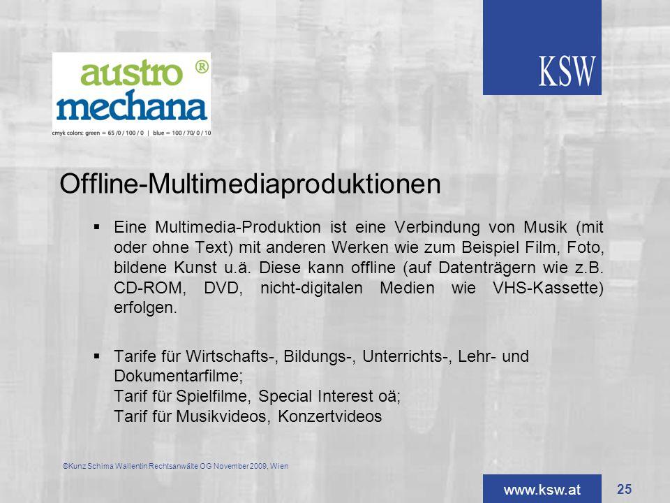 Offline-Multimediaproduktionen