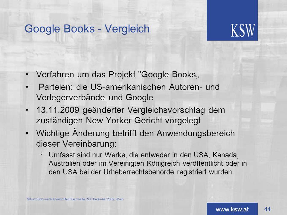 Google Books - Vergleich