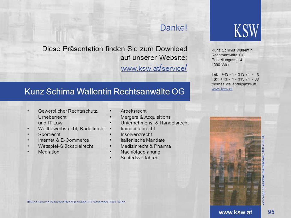 Kunz Schima Wallentin Rechtsanwälte OG