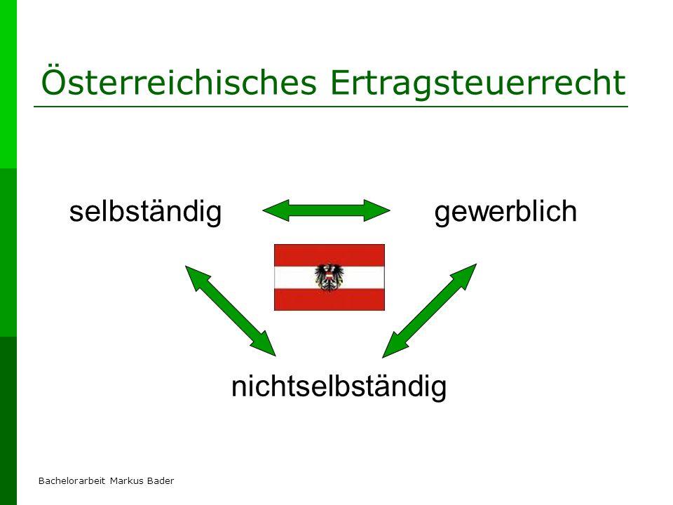 Österreichisches Ertragsteuerrecht