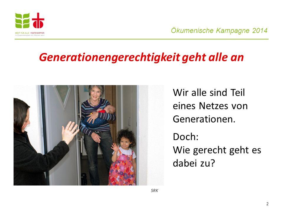 Generationengerechtigkeit geht alle an