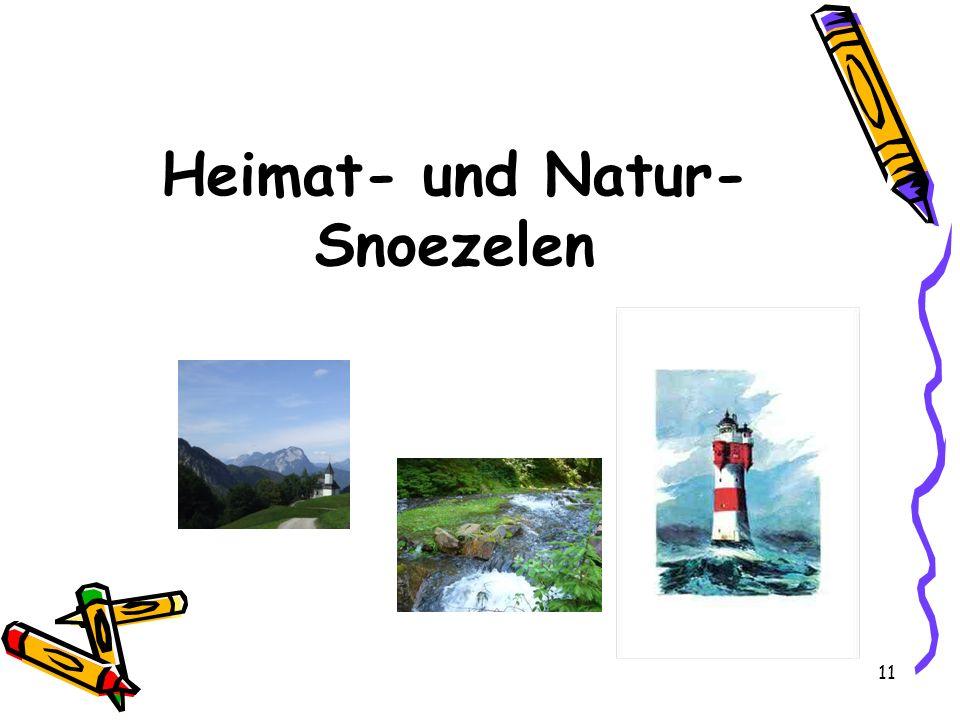 Heimat- und Natur-Snoezelen