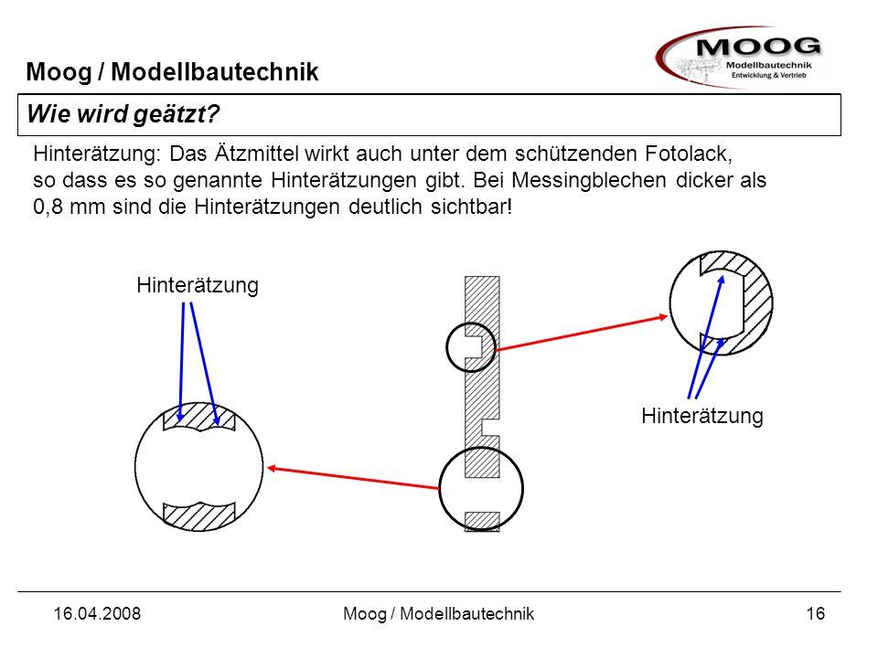 Moog / Modellbautechnik