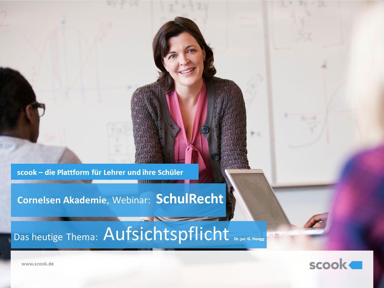 scook – die Plattform für Lehrer und ihre Schüler