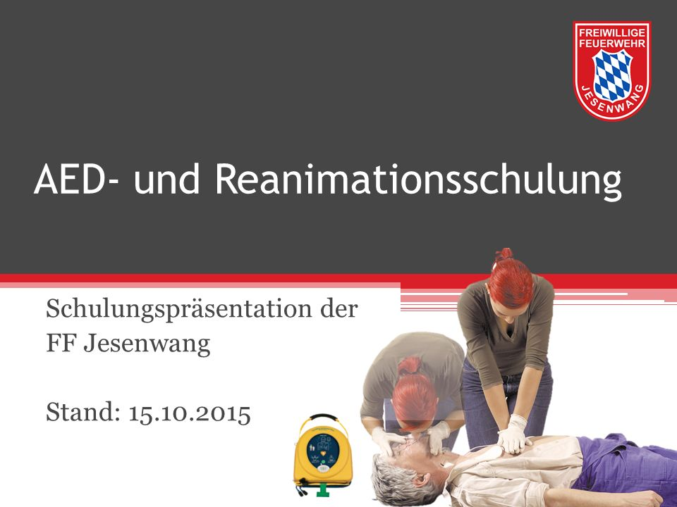 AED- und Reanimationsschulung