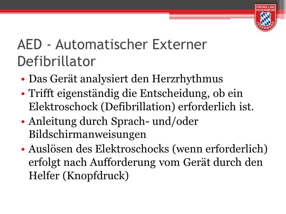 AED - Automatischer Externer Defibrillator